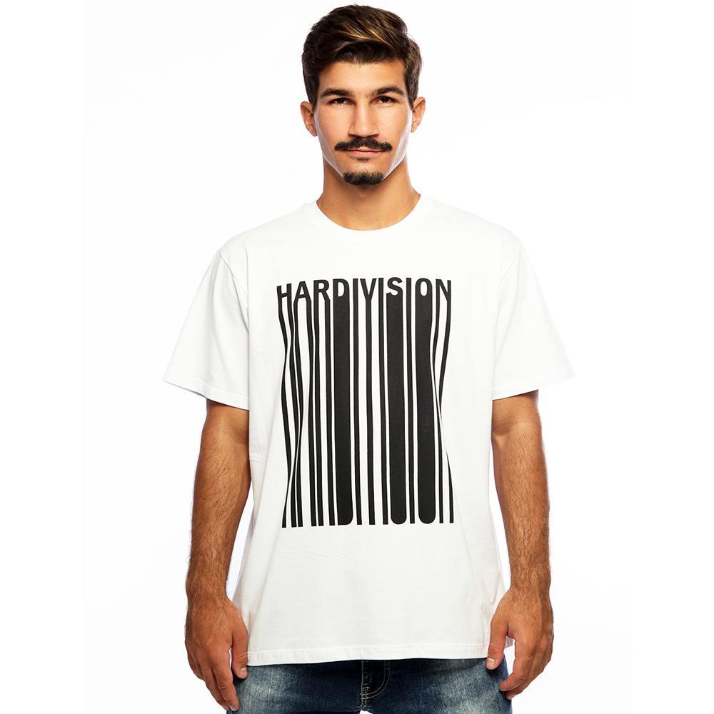 Camiseta Masculina Estampada New Order Branco Hardivision