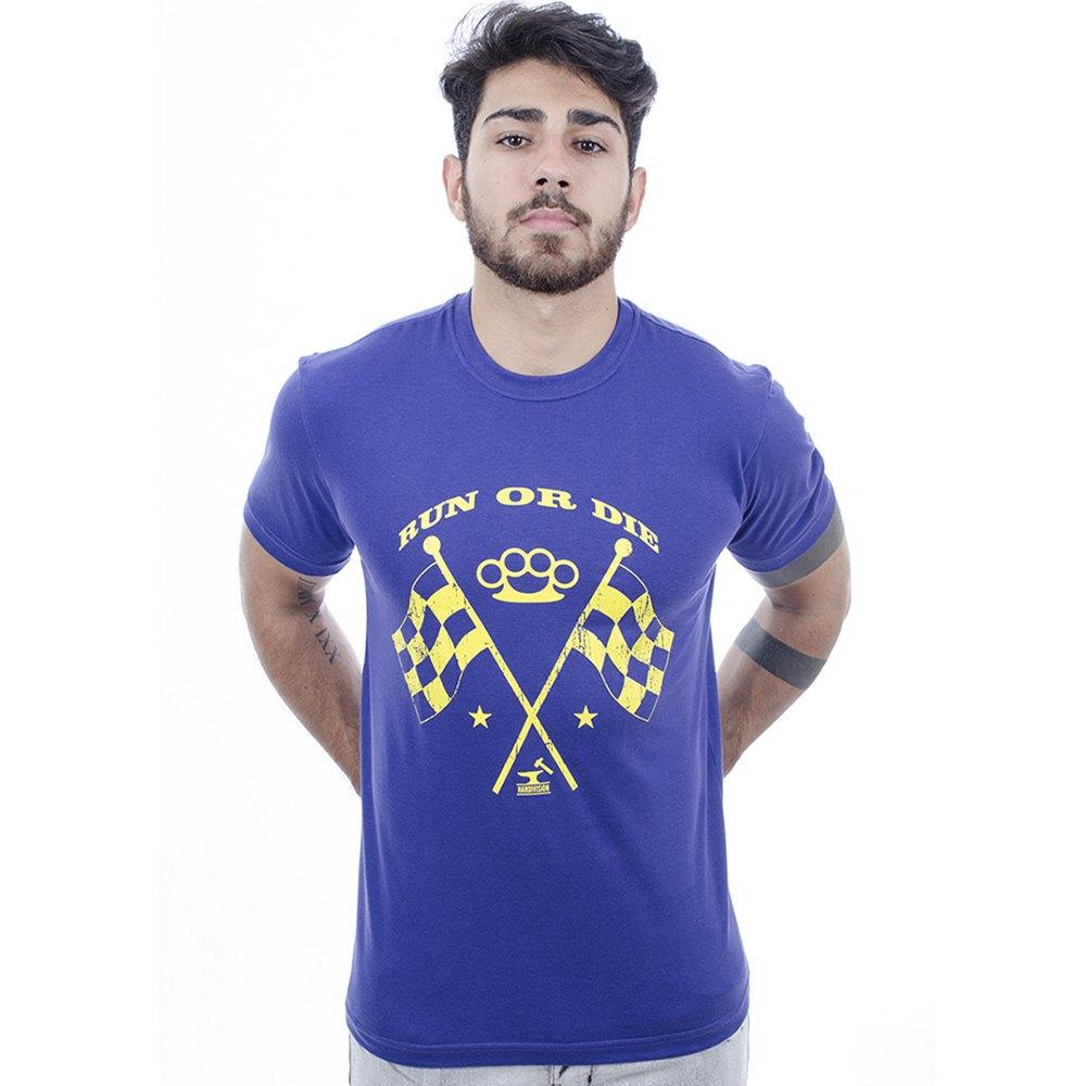 Camiseta Masculina Estampada Ride Roxo Hardivision