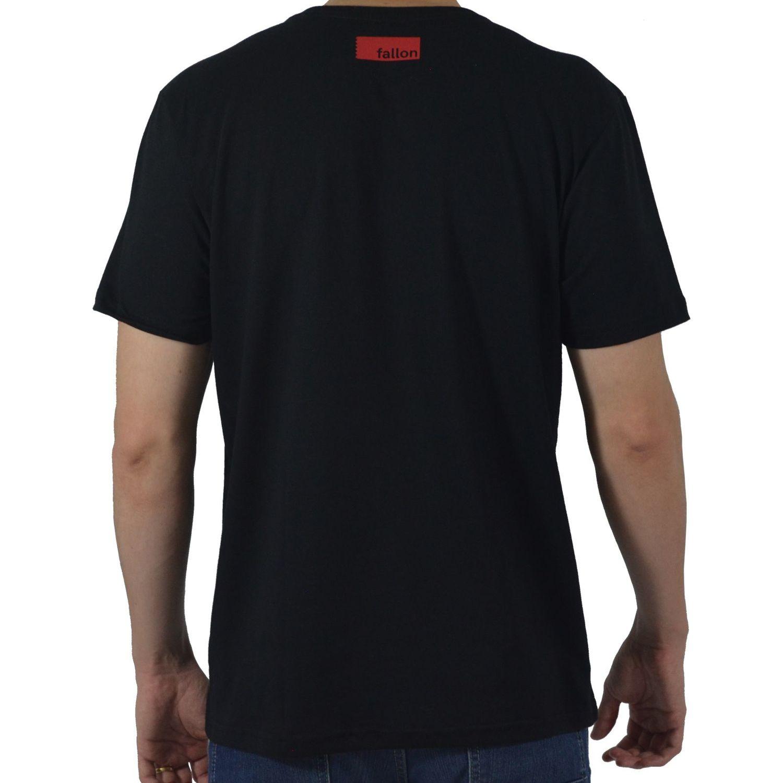 b2549b97d Camiseta Masculina Fallon   Co. Indian Motorcycle Club Preta