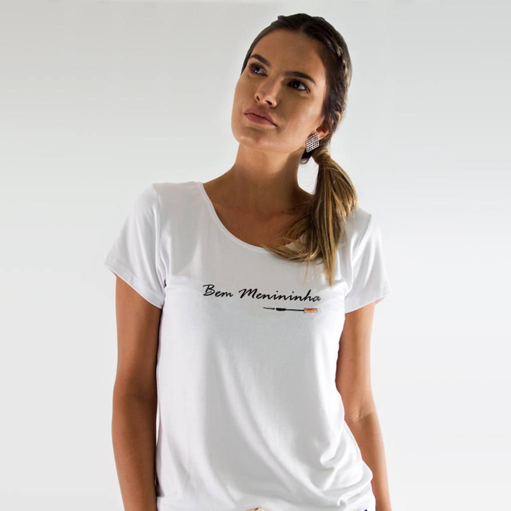 Camiseta Off Peak Bem Menininha