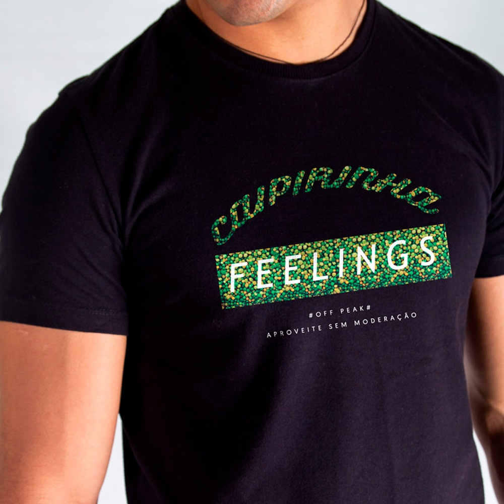 Camiseta Off Peak Caipirinha Feelings