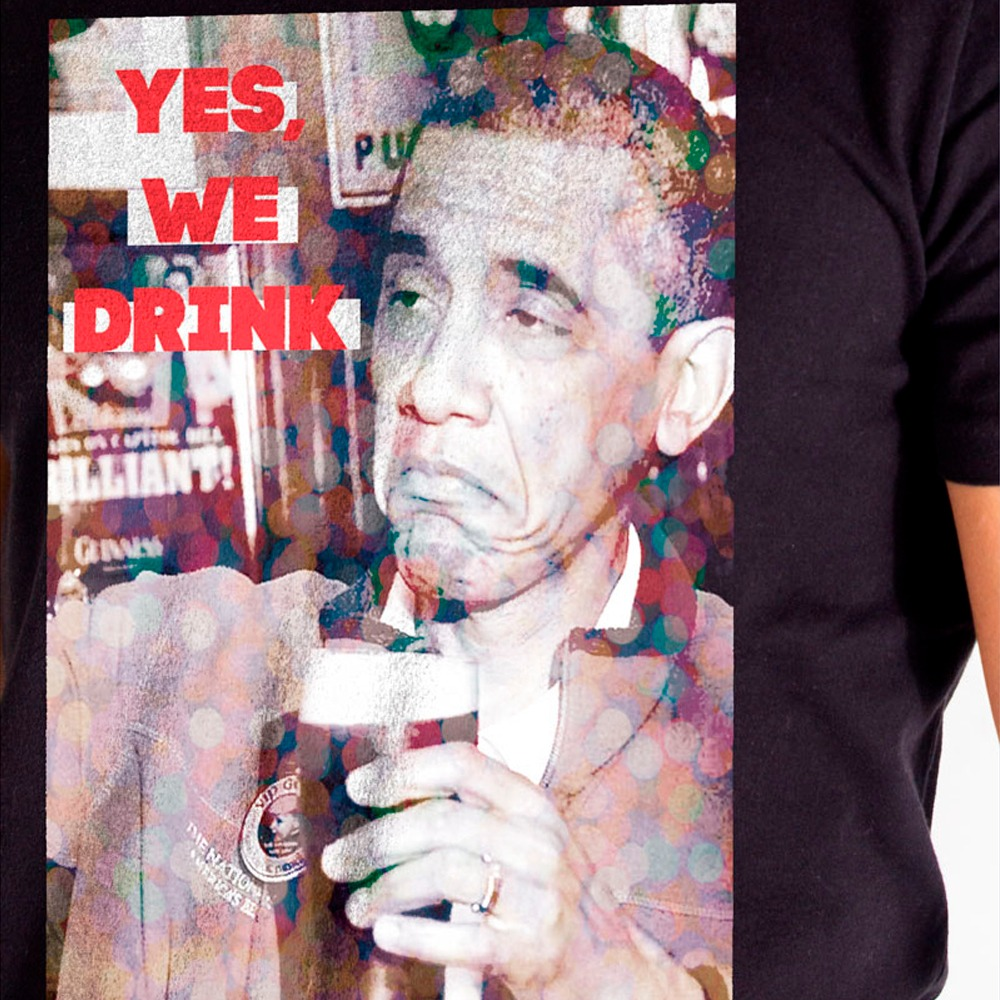Camiseta Off Peak Obama