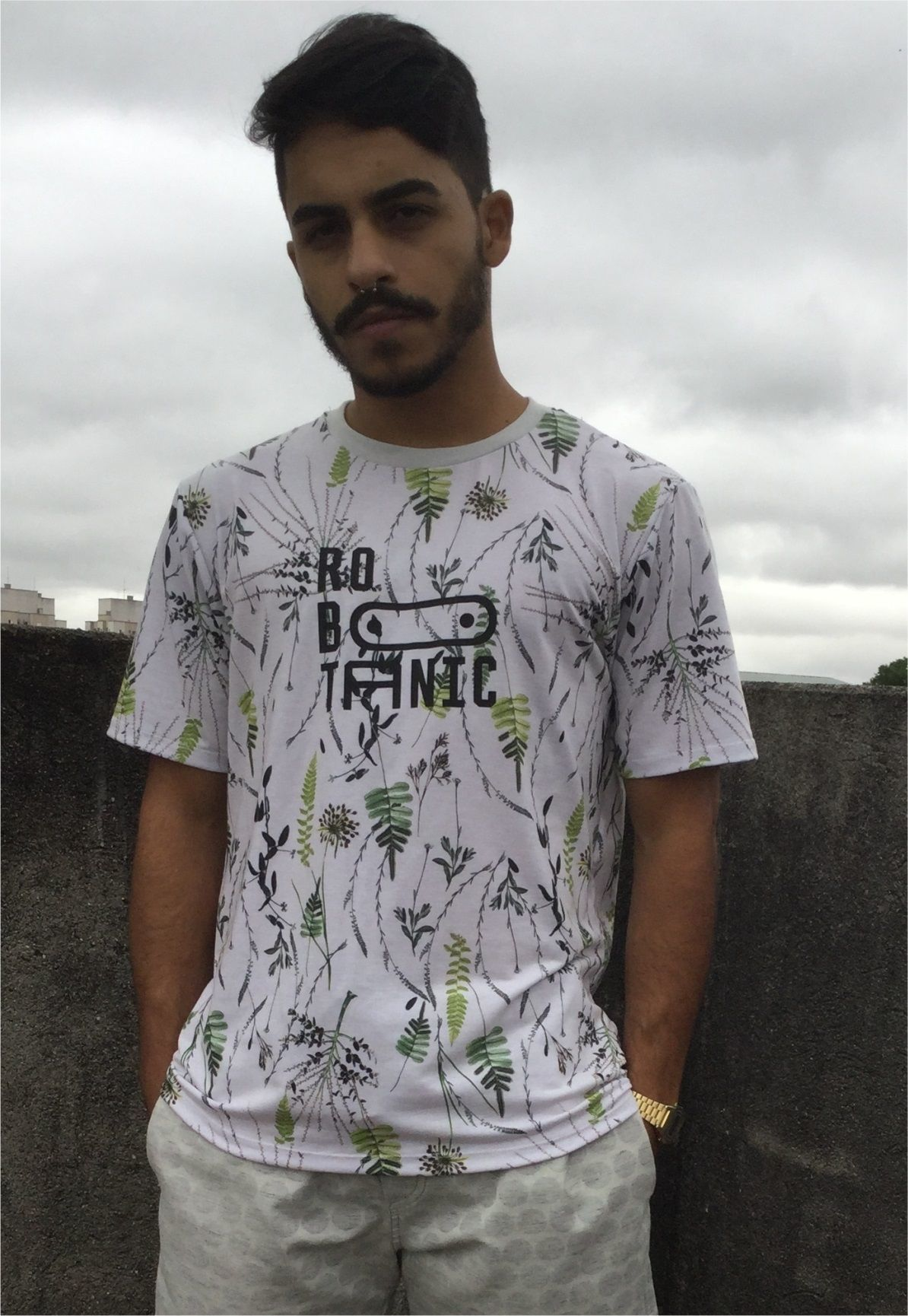 Camiseta Robotanic