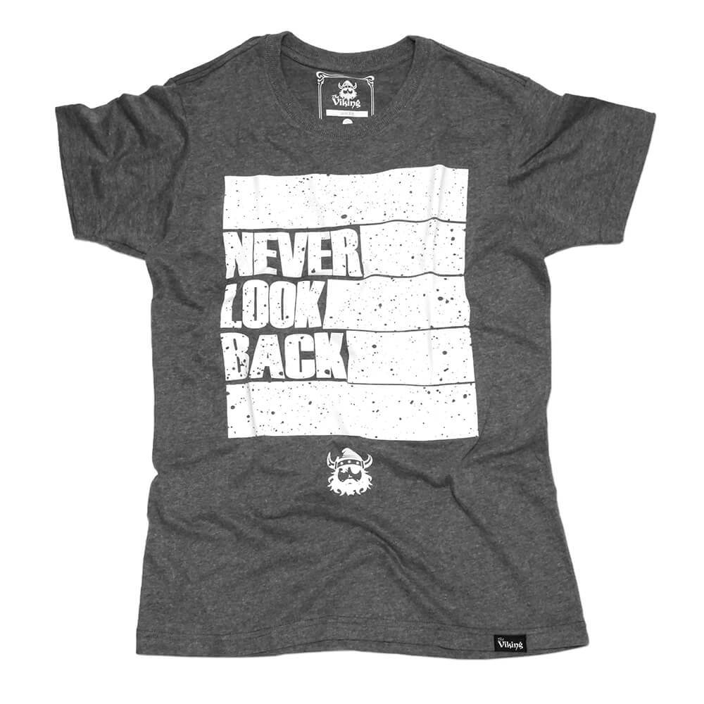 Camiseta Slim Never Look Back