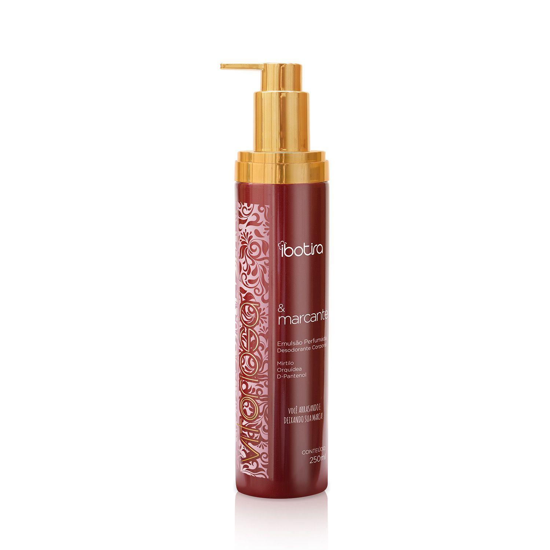 Emulsão Perfumada Desodorante Corporal Ibotira - Vitoriosa e Marcante  250ml