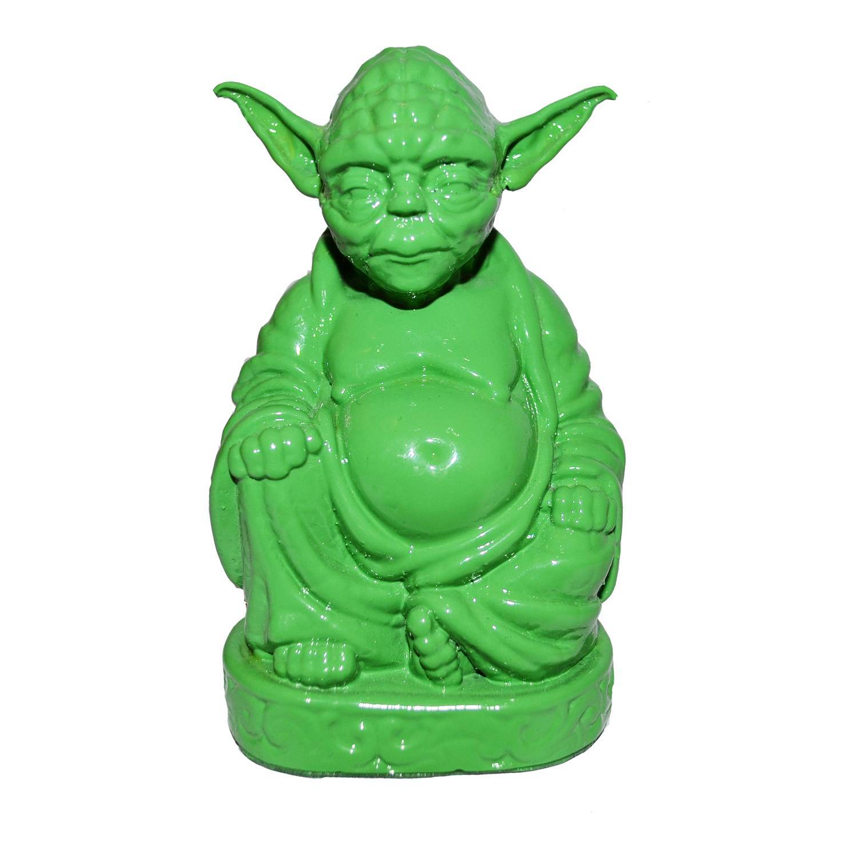Estatueta Buda Mestre Yoda