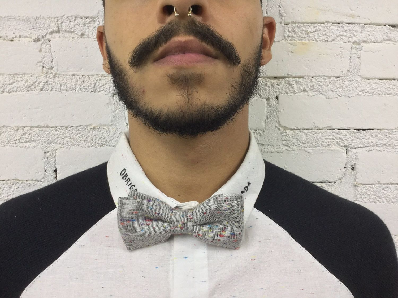 Gravata Borboleta Colorida