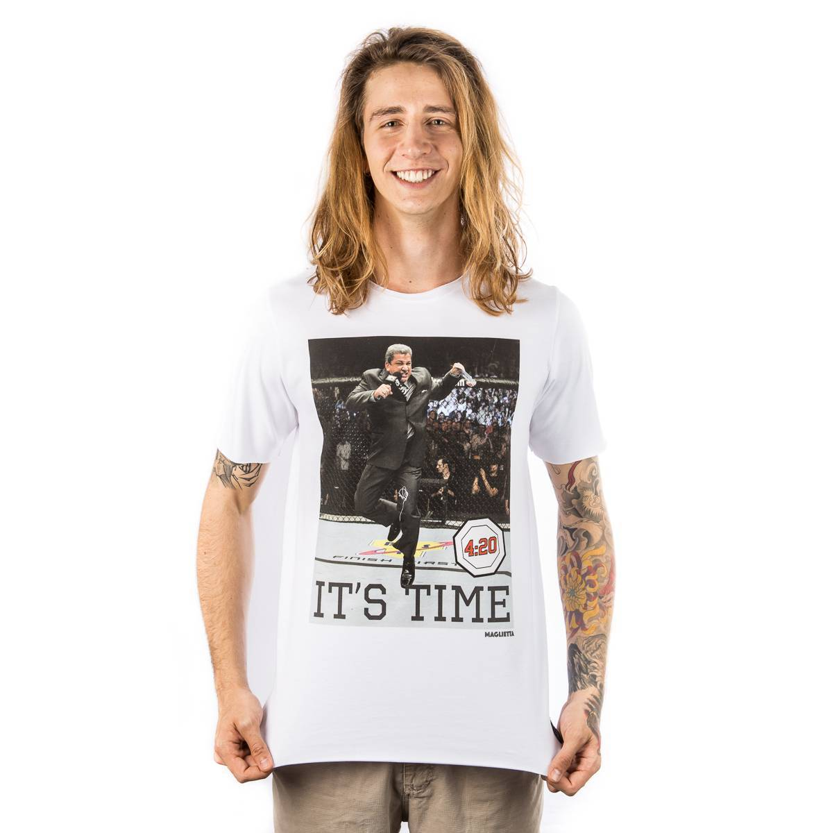 Camiseta It's Time Maglietta