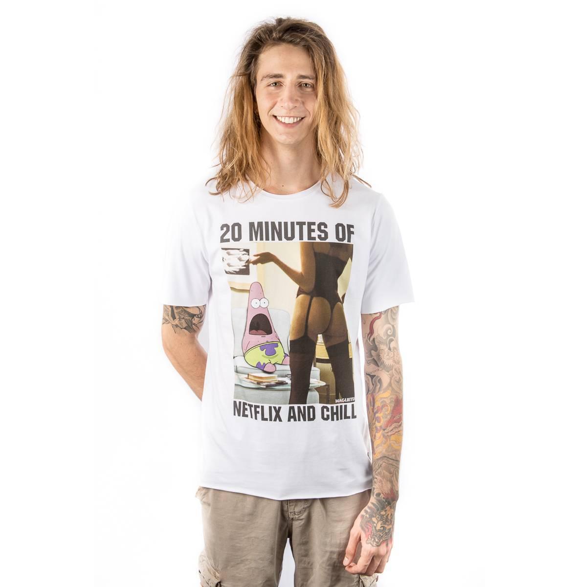 Camiseta Netflix & Chill Maglietta