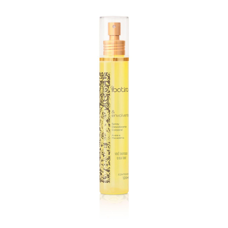 Spray Desodorante Corporal Ibotira - Vitoriosa e Envolvente  120 ml