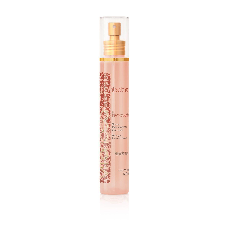 Spray Desodorante Corporal Ibotira - Vitoriosa e Renovada 120 ml