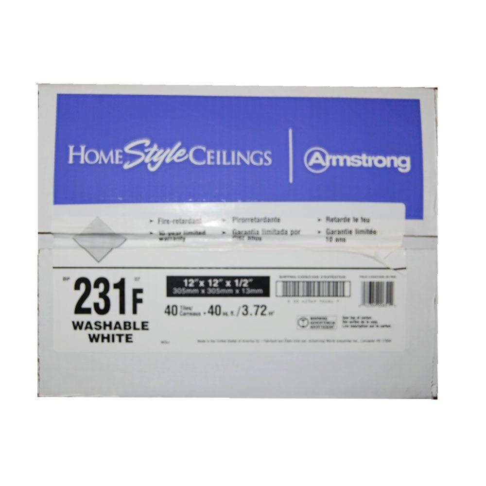 Armstrong 12 X 12 Homestyle Impression Ceiling Tile
