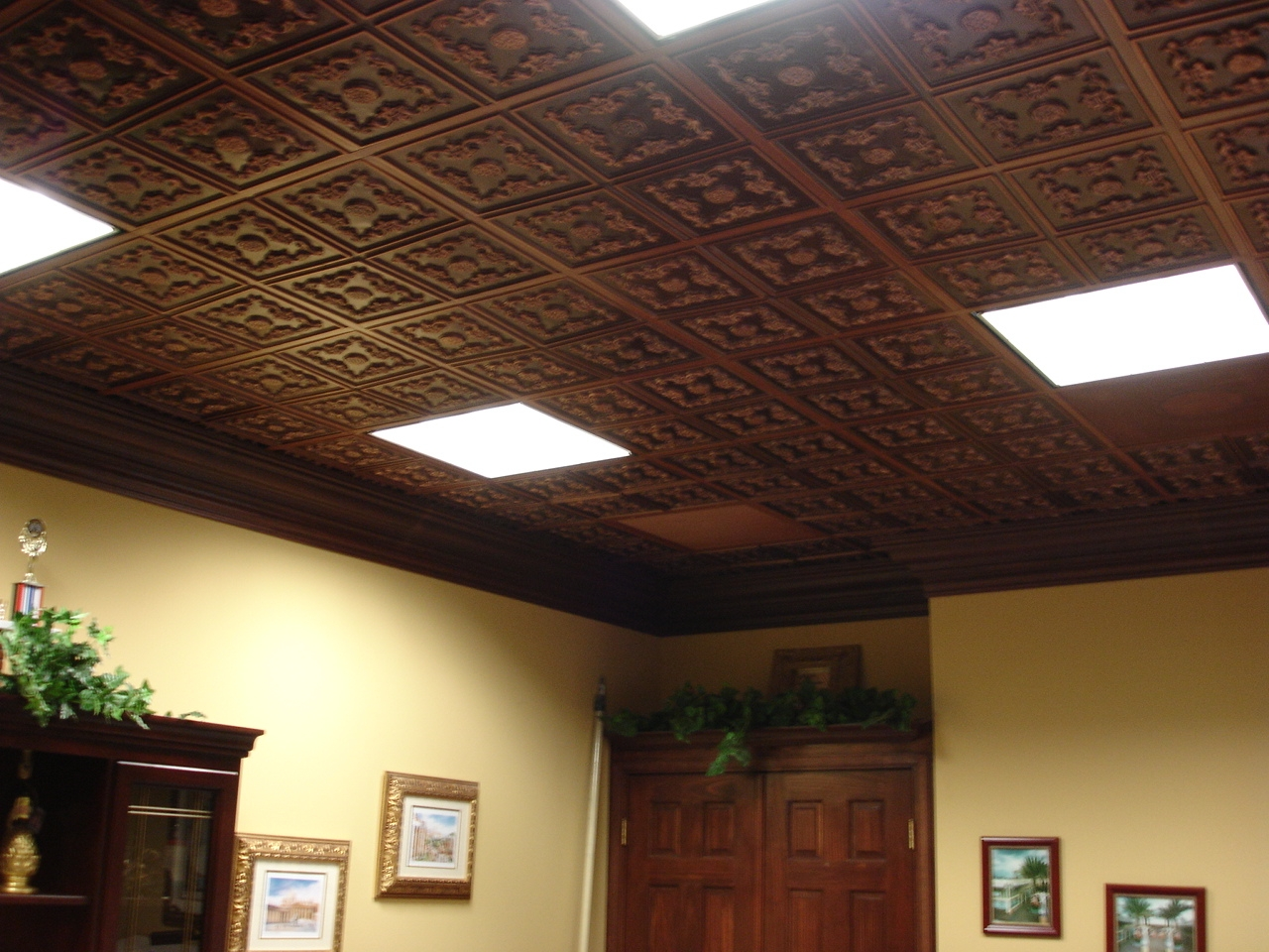 Ceiling Tile Design Ideas