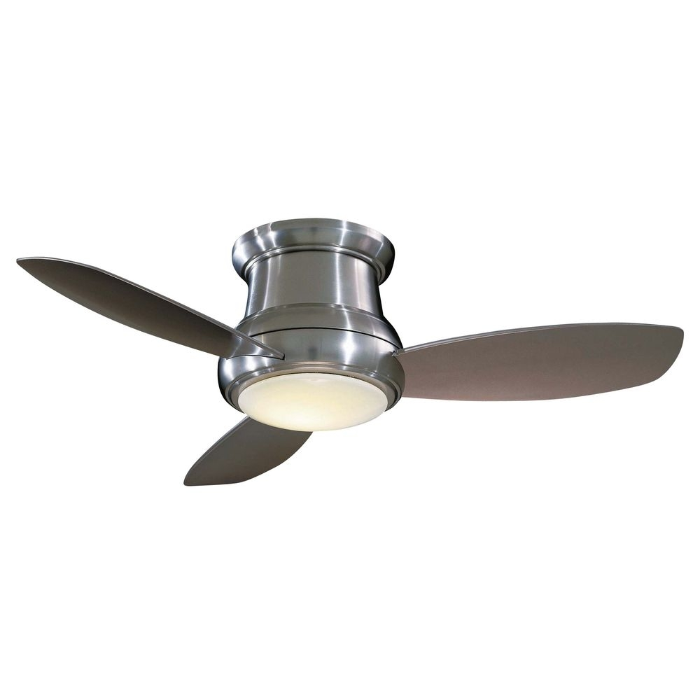 Hugger Ceiling Fans With Light And Remote