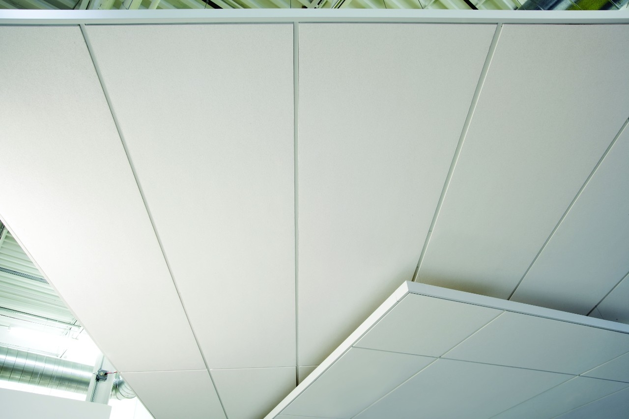 Acoustically Reflective Ceiling Tiles
