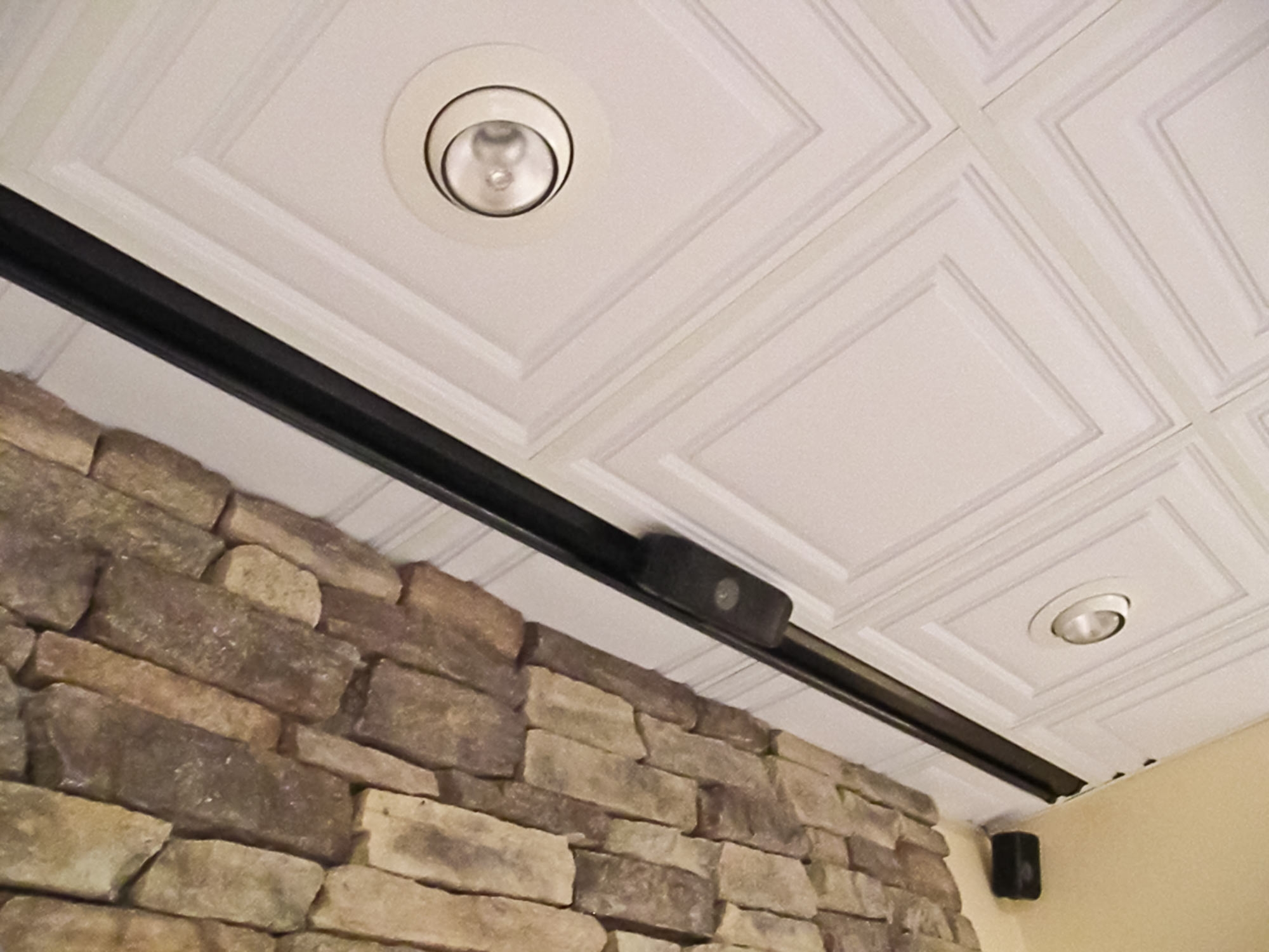 Recessed Ceiling Tiles Cutting