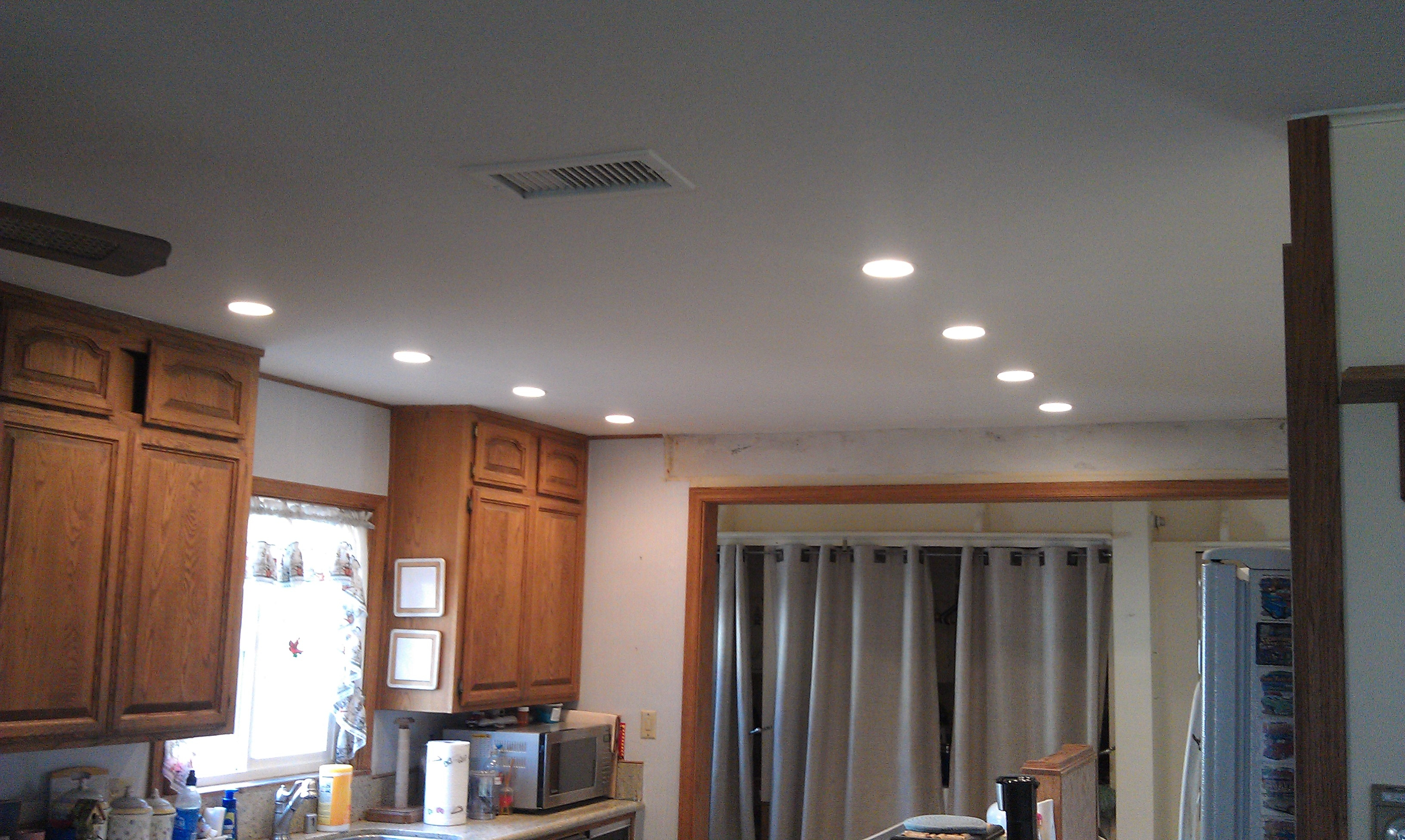 Recessed Lights Kitchen Ceiling
