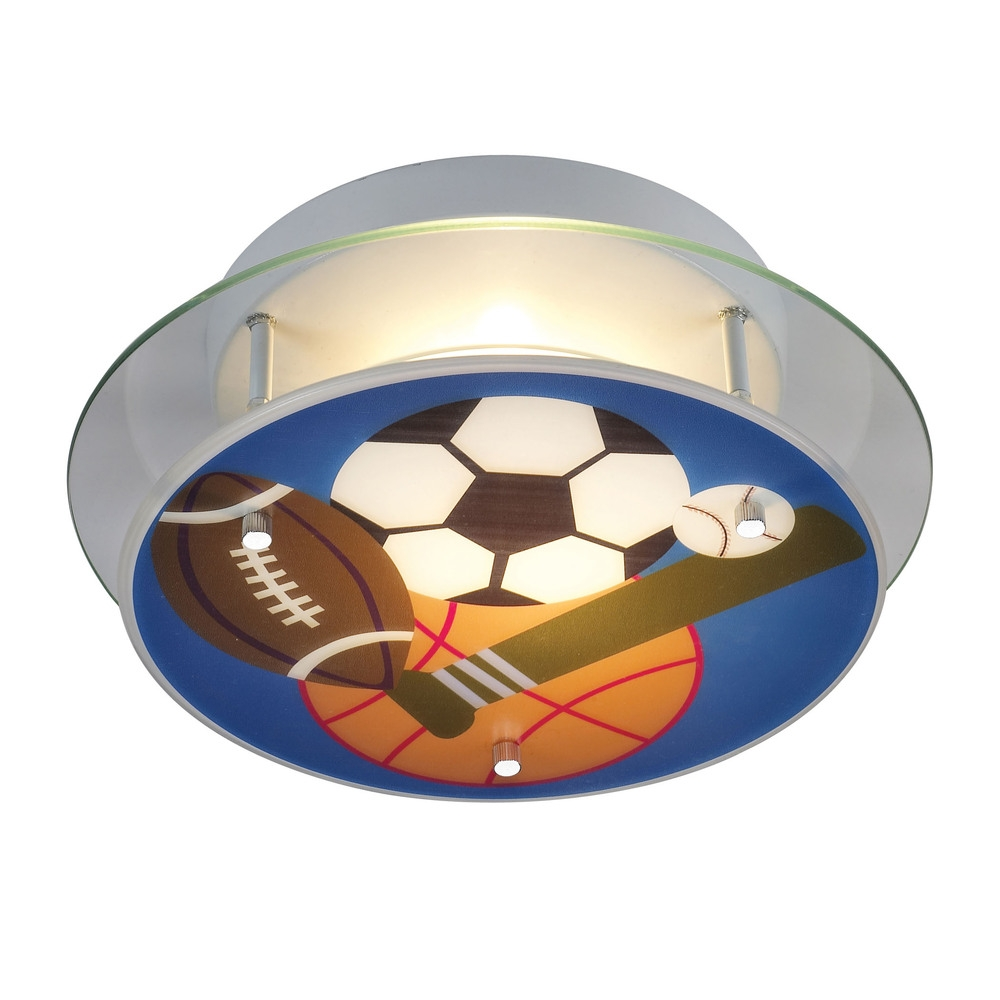 Sports Themed Ceiling Light
