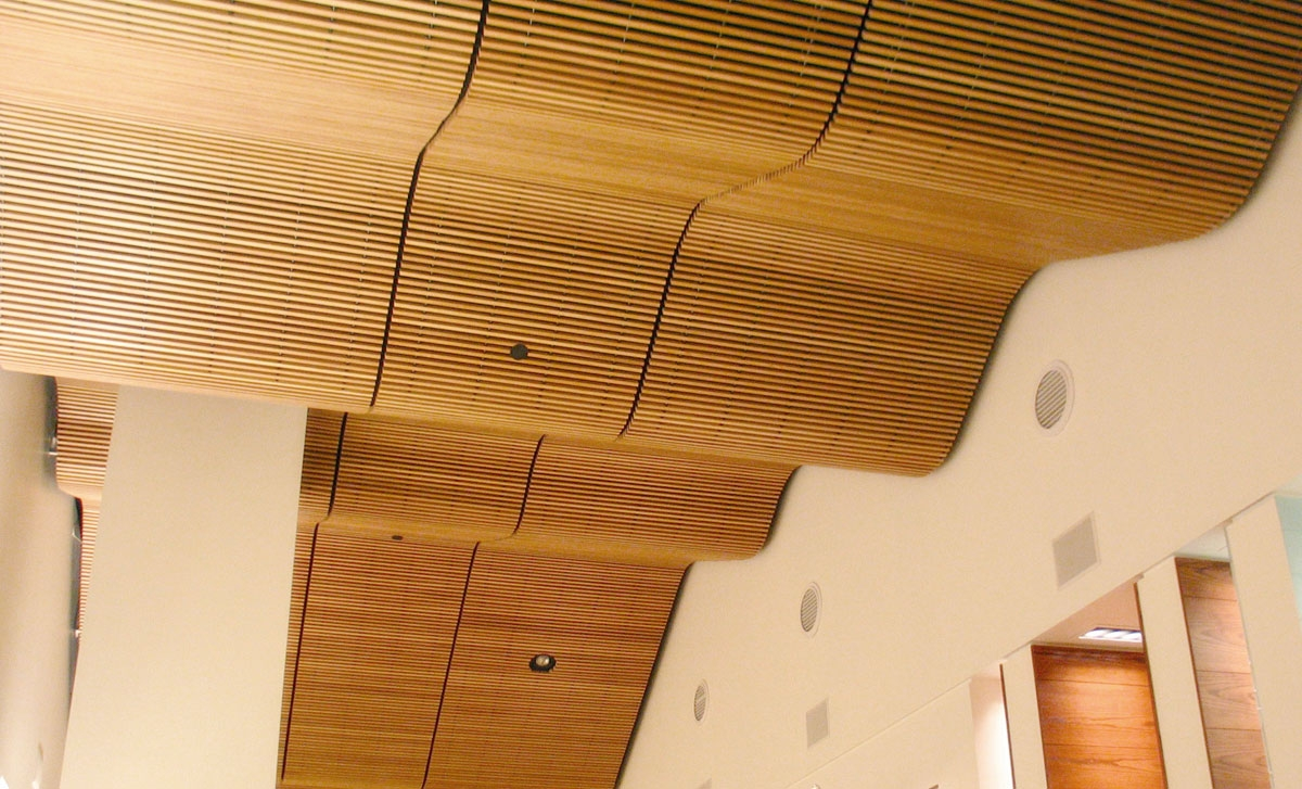 Wood Ceiling Tile Systems
