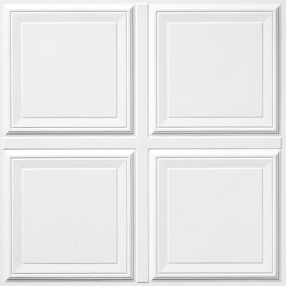 Cutting Raised Panel Ceiling Tiles