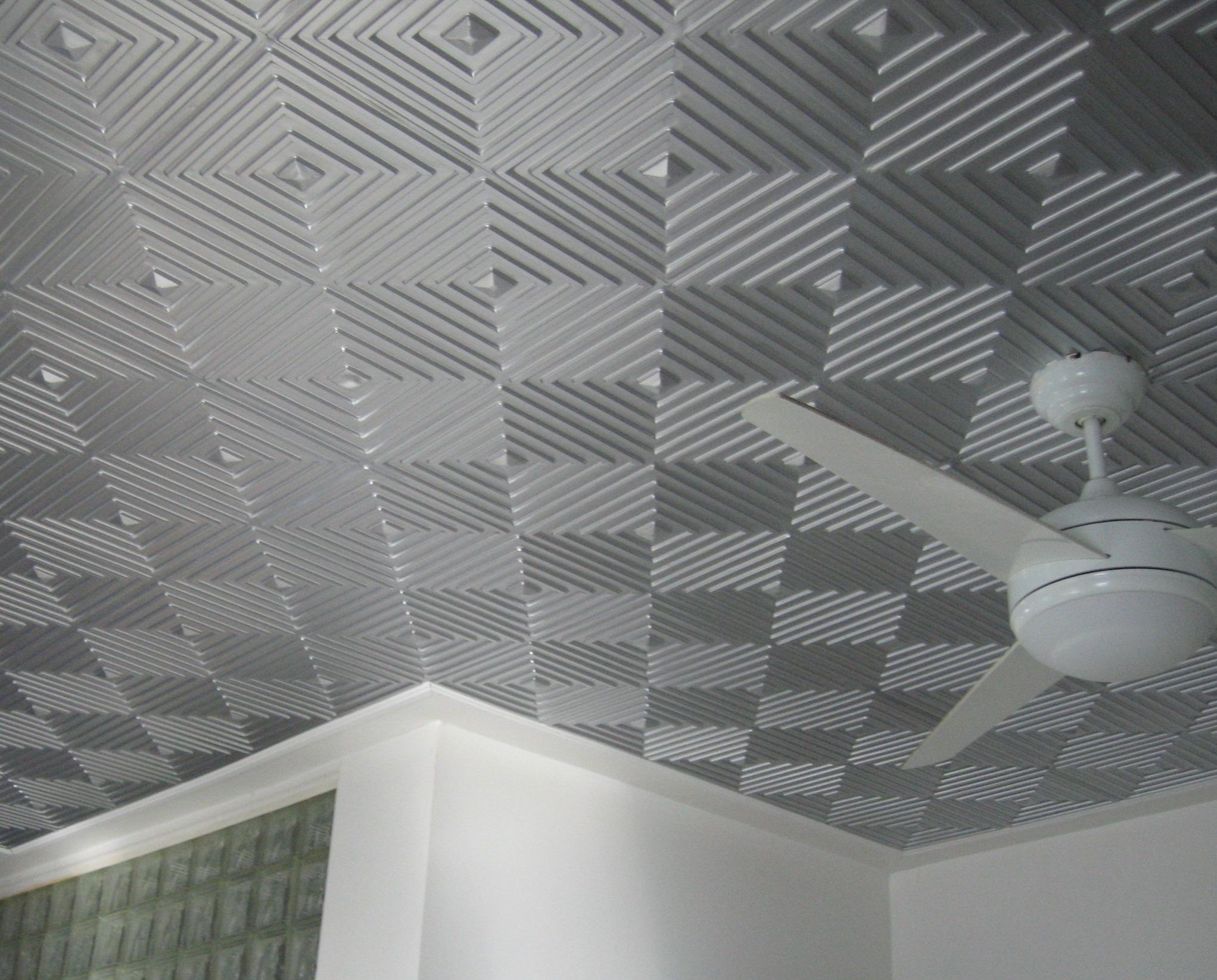 Foam Tiles On Ceiling