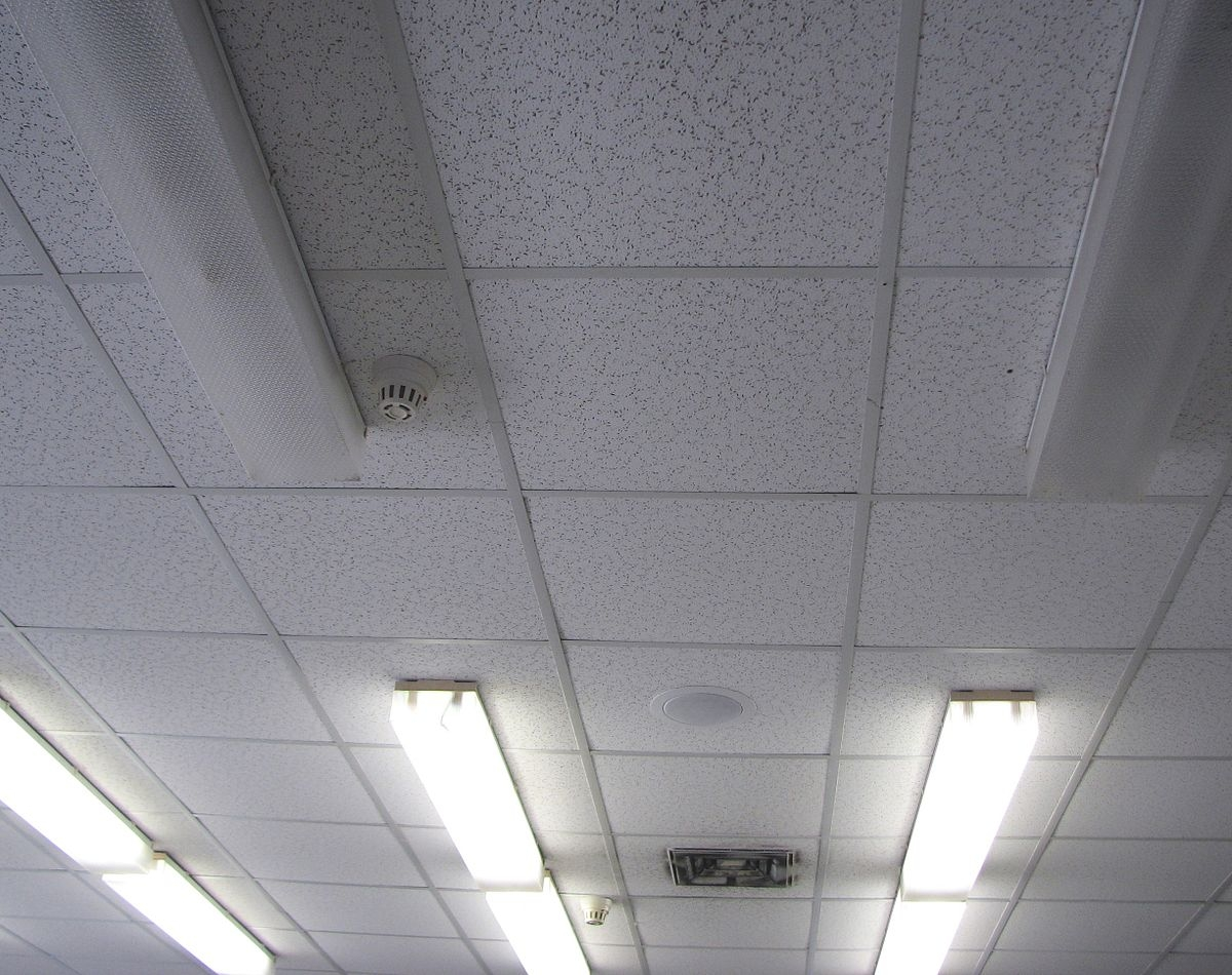 Plastic Faced Suspended Ceiling Tiles