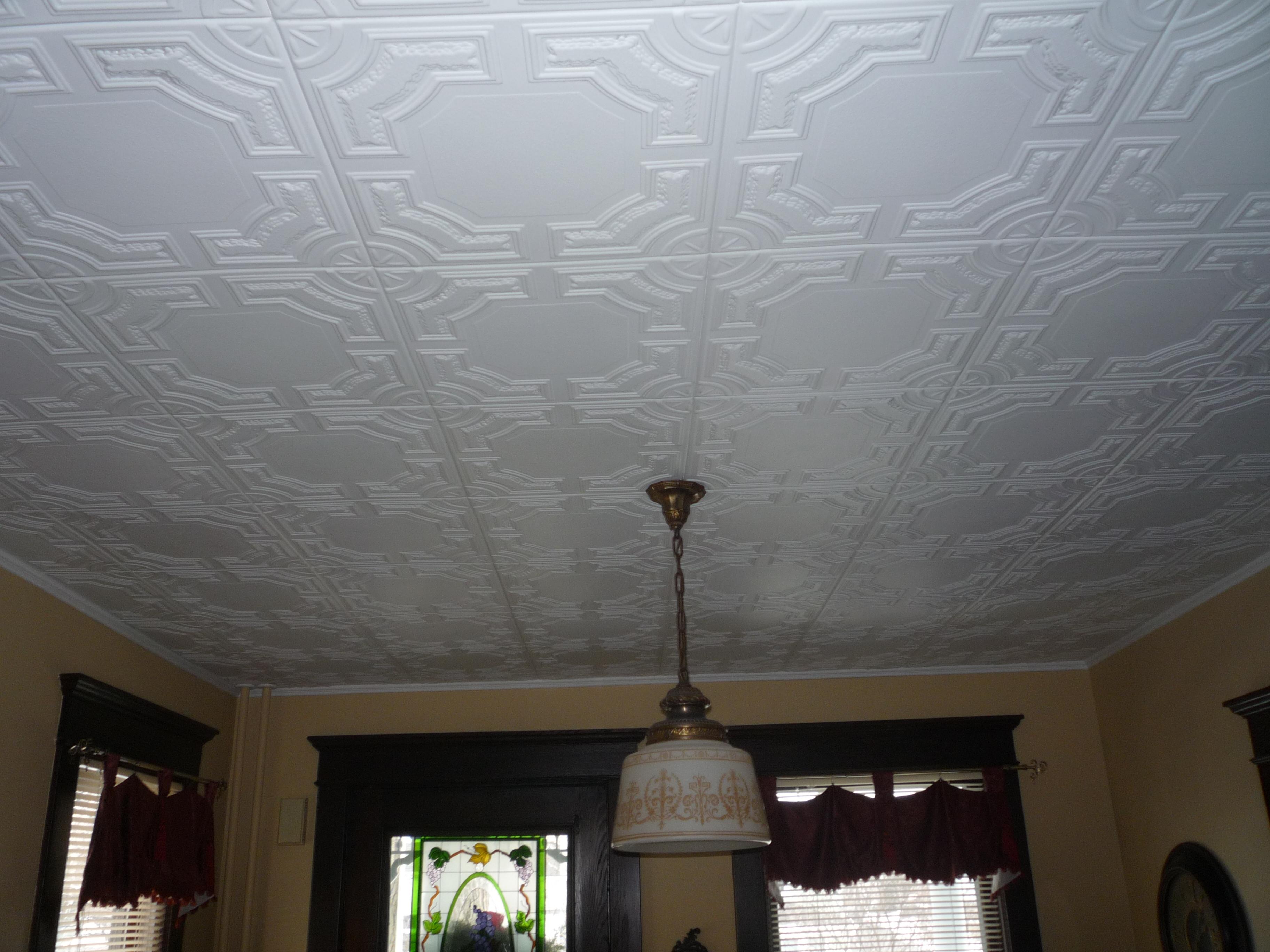 2×4 Styrofoam Ceiling Tiles