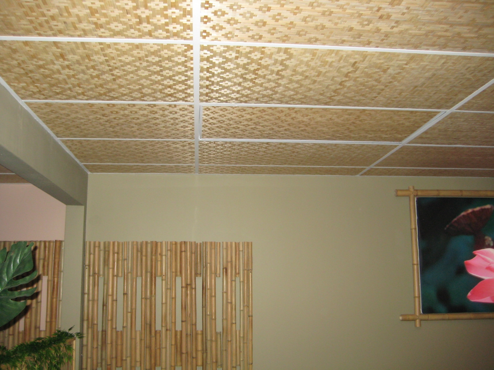 Bamboo Drop Ceiling Tiles