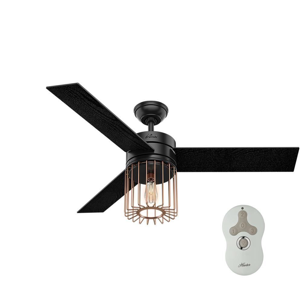 Black Ceiling Fans With Light Kit