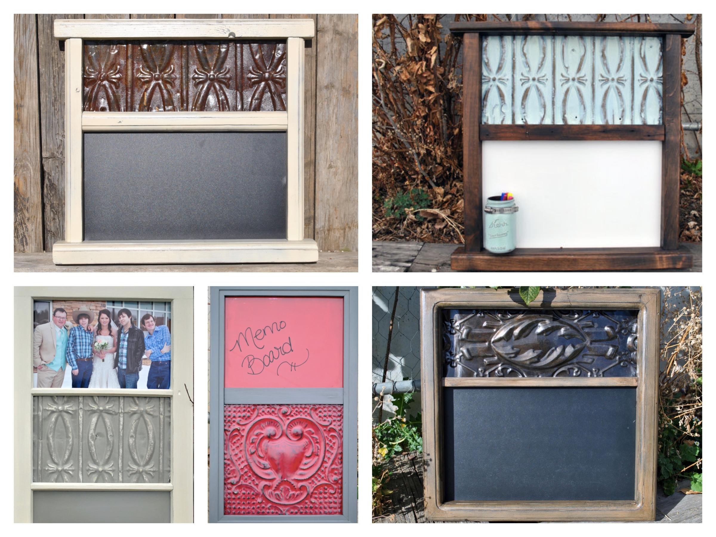 Ceiling Tile Picture Frames