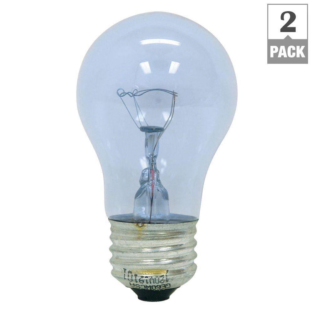 Ge Reveal 60 Watt Ceiling Fan Light Bulbs