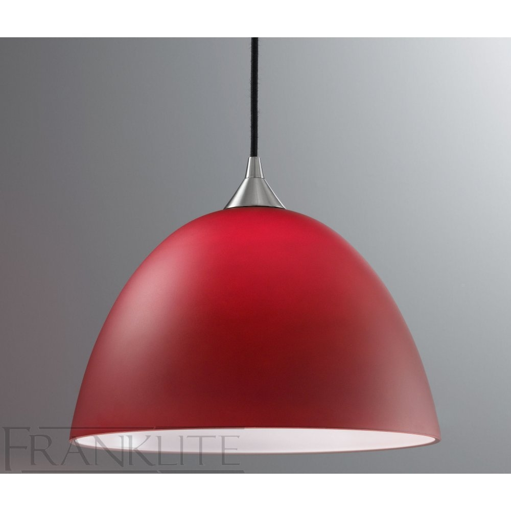 Large Red Ceiling Light Shades