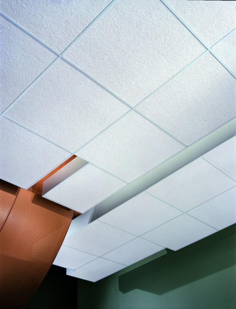 Mylar Faced Ceiling Tiles