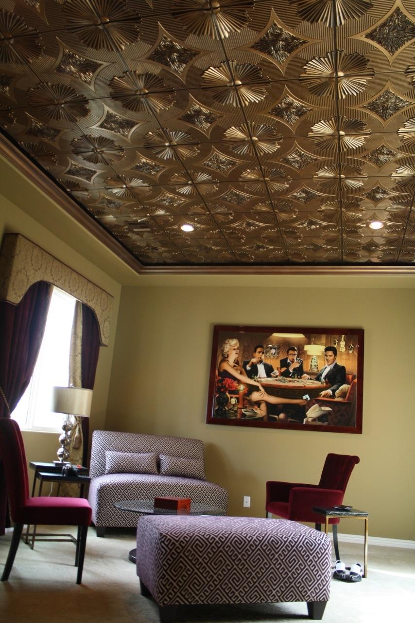 Round Tin Ceiling Tiles