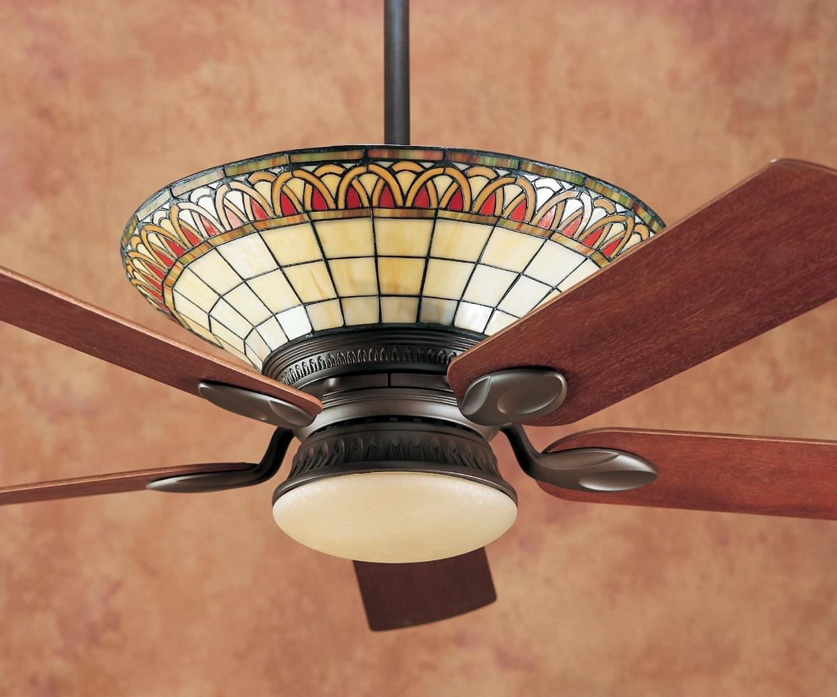 Tiffany Ceiling Fan Light Globes