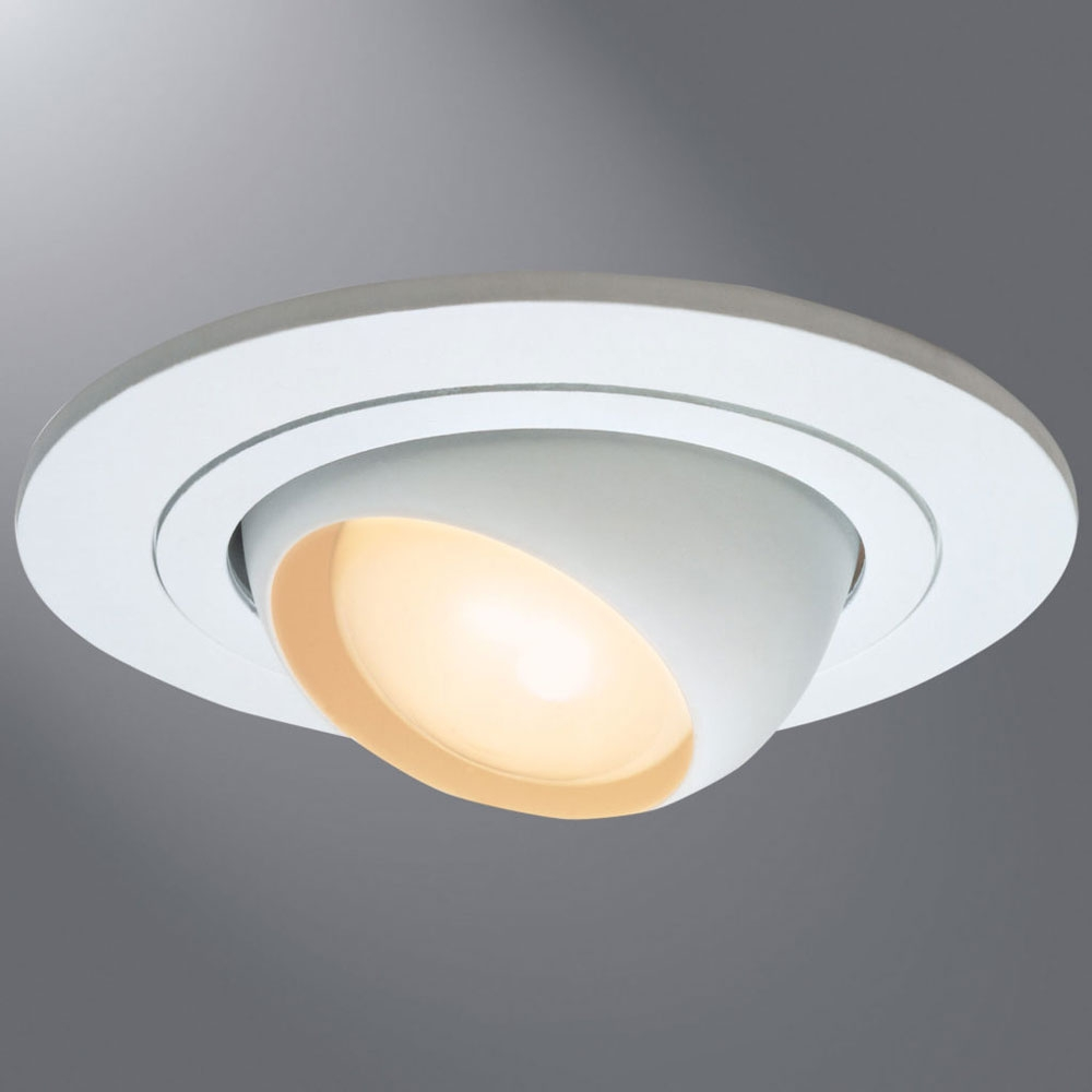 4 Sloped Ceiling Can Lights