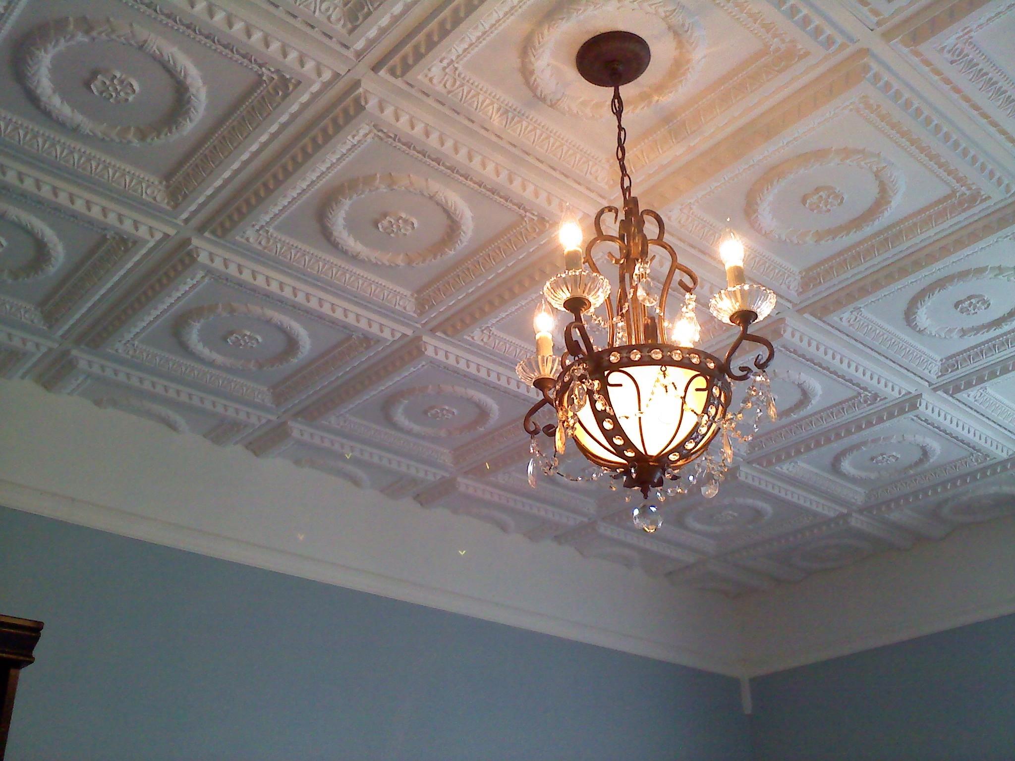 Faux Ceiling Tiles Foam