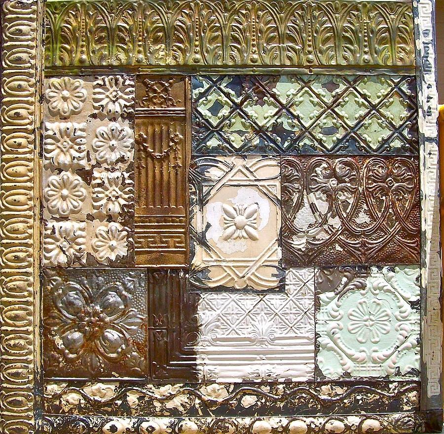 Tin Ceiling Tile Art