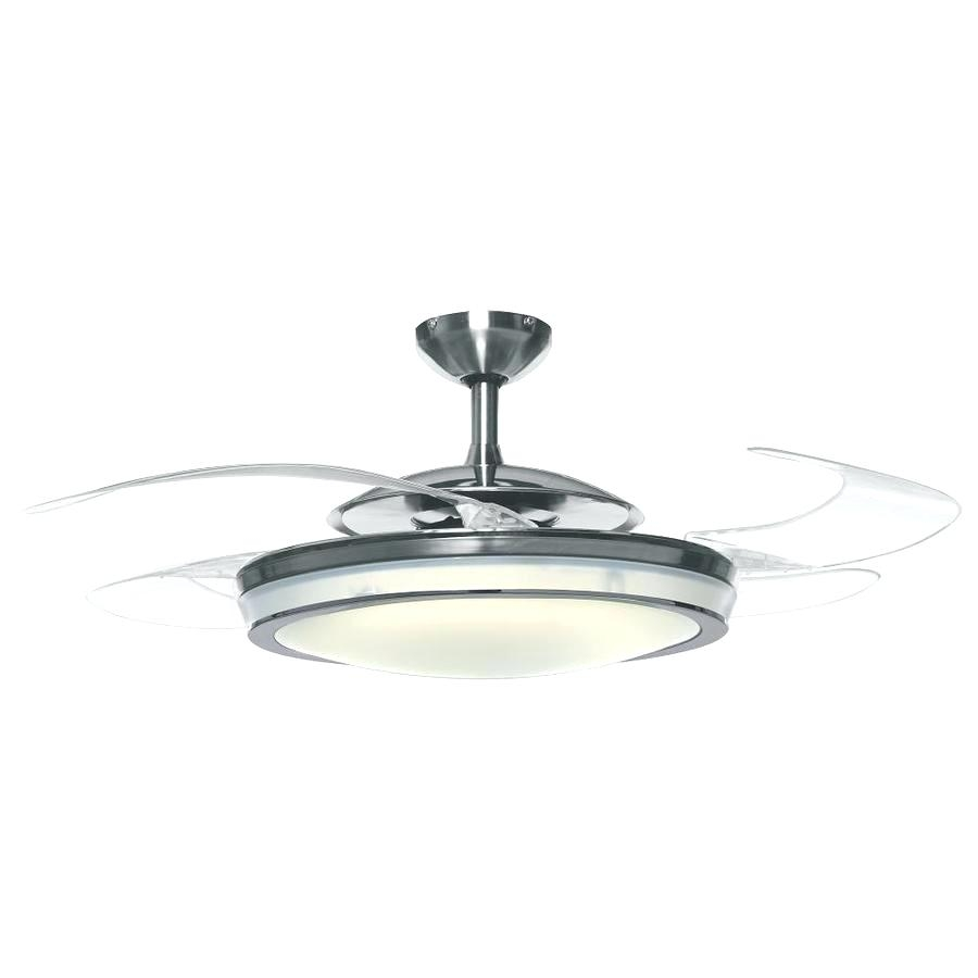 Vento Sole Retractable Blade Ceiling Fan With Light