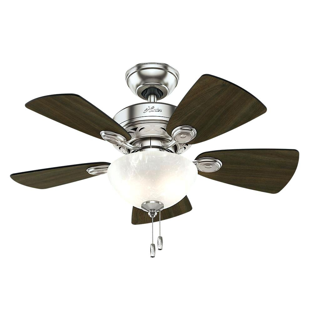 Whisper Quiet Ceiling Fan With Light