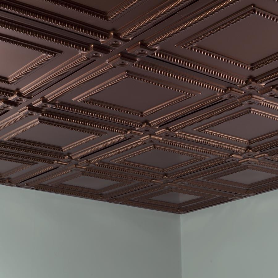 Bronze Drop Ceiling Tiles