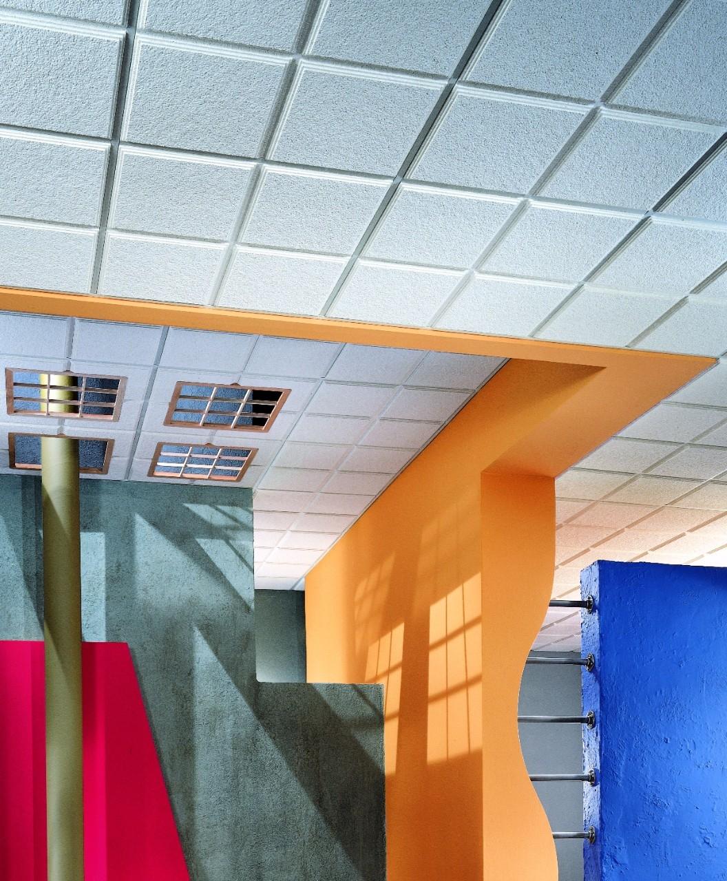 Noise Reducing Acoustical Ceiling Tiles