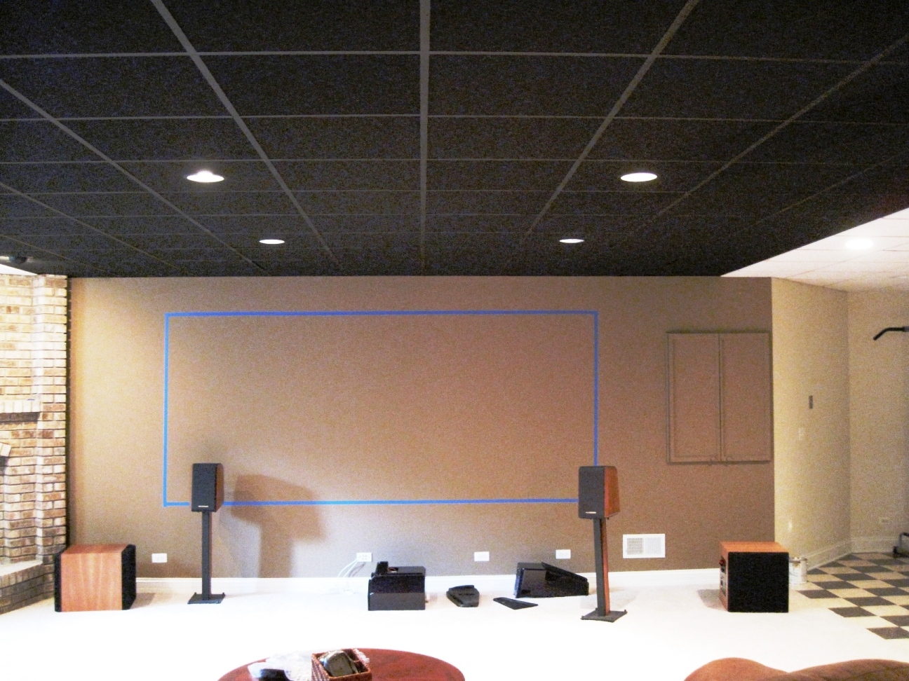 2×4 Suspended Ceiling Tiles Acoustic
