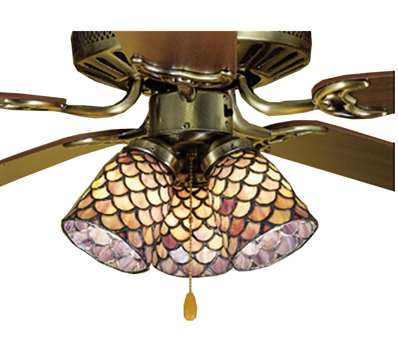 Tiffany Ceiling Fan Light Covers