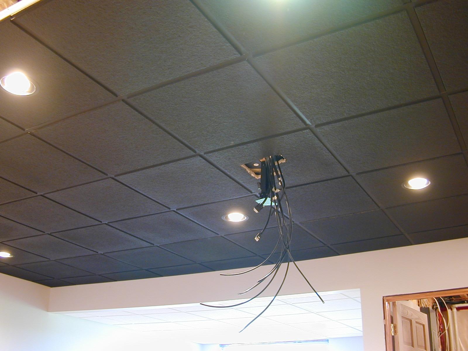 Wallpaper Drop Ceiling Tiles