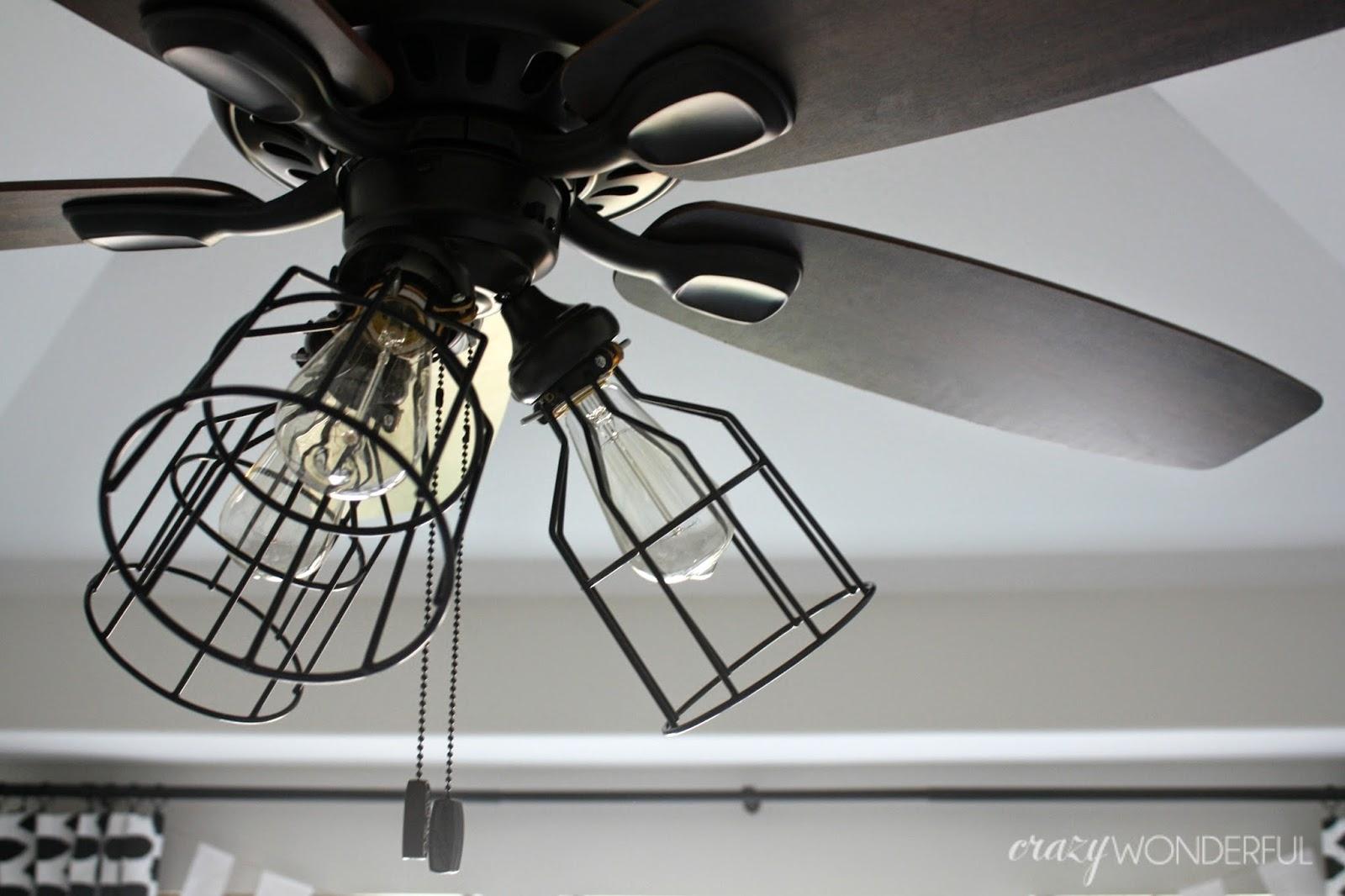 Ceiling Fan Cage Light Kit1600 X 1066