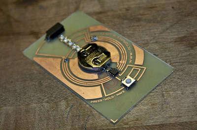 Complete circuit board lab pov business card