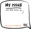 Whose  issues sticker example