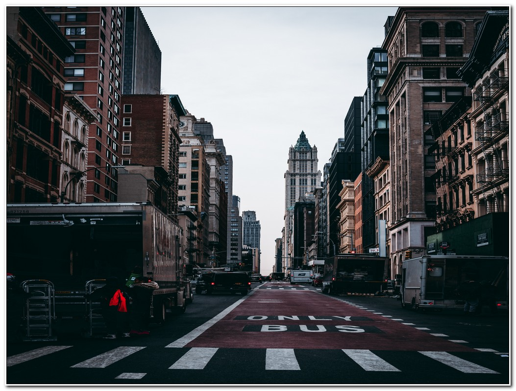 Asphalt Road Of City Resize