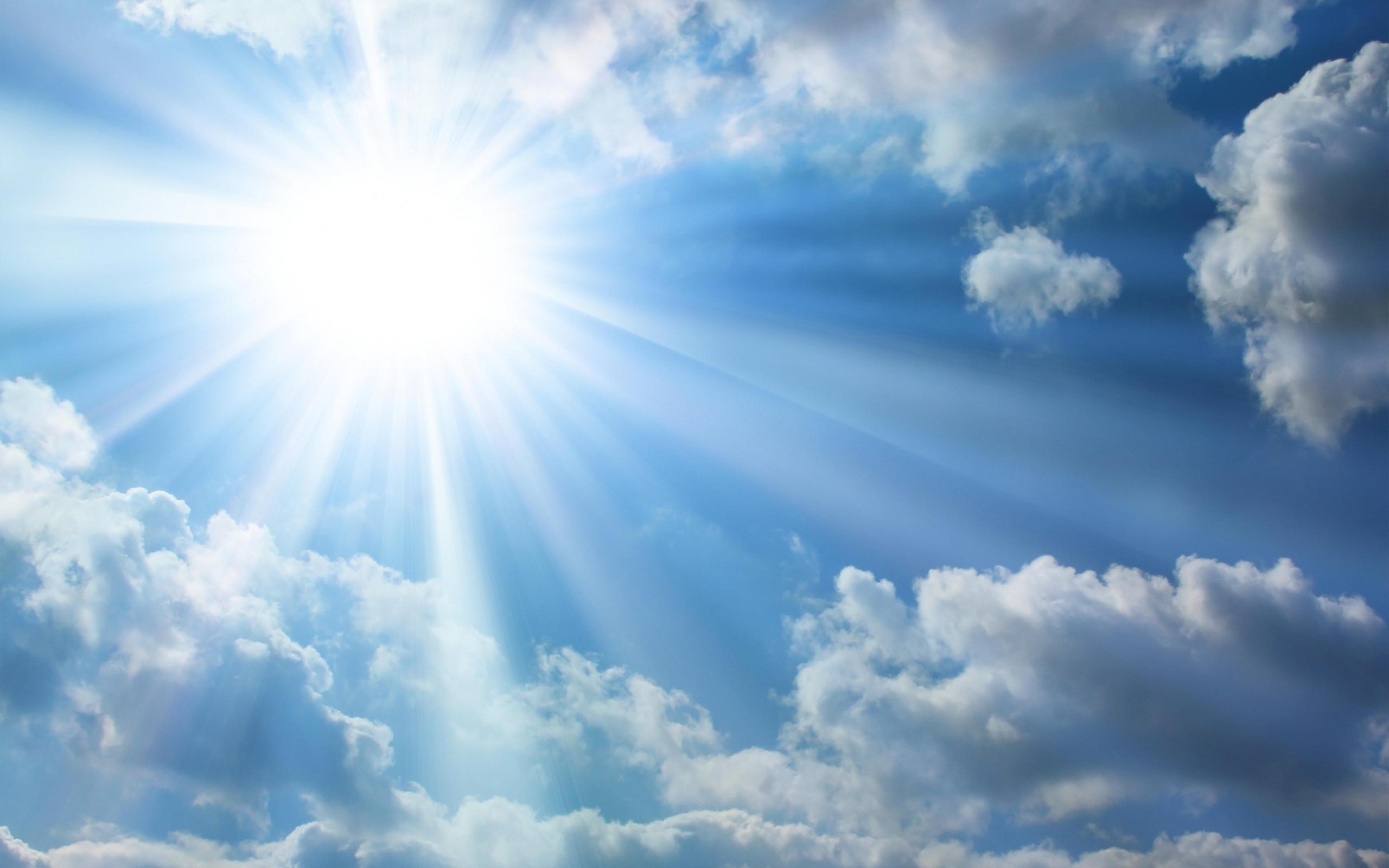 - Clouds Sunshine